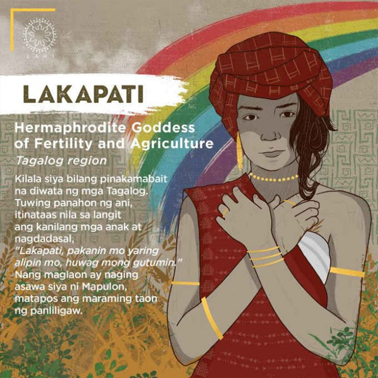 Lakapati - Hermaphrodite Goddess of Fertility and Agriculture