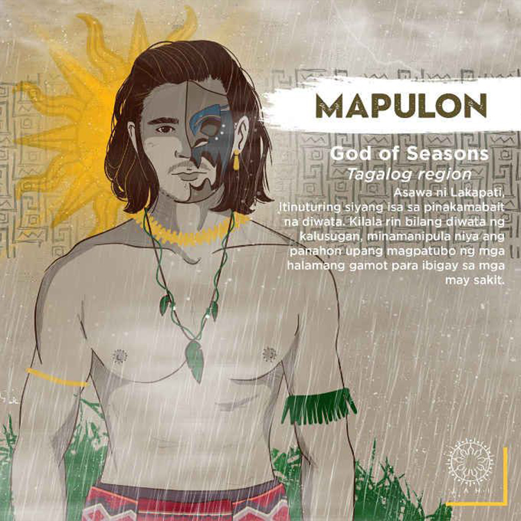Mapulon - God of Seasons (Tagalog region)