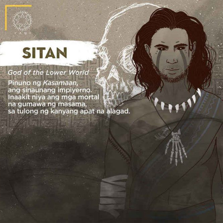 Sitan - God of the Lower World