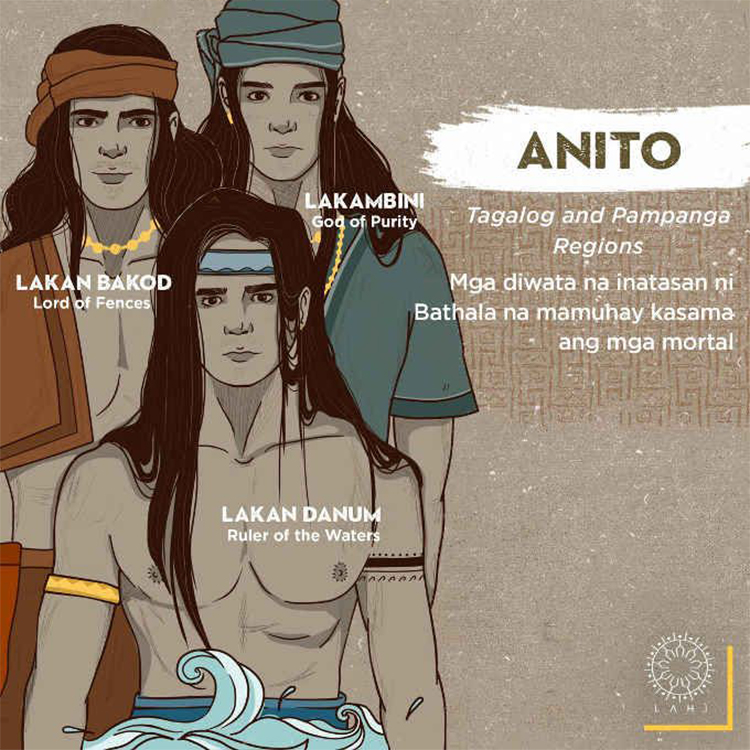 The 3 Anito (Tagalog and Pampanga Regions)