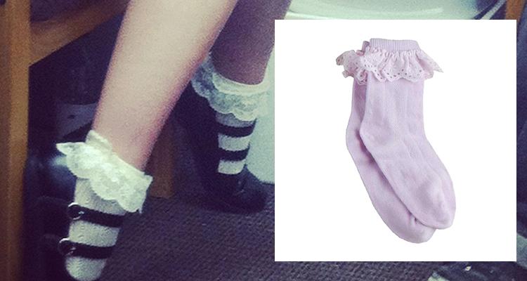 The Ruffle socks