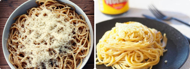3-Buttered Pasta ala Vegemite
