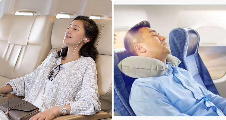 4-Bring earphones and a comfortable neck pillow