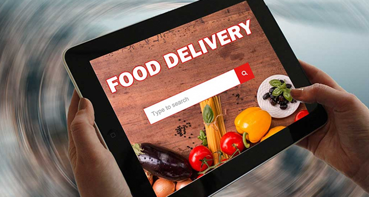 Mobile apps for food delivery