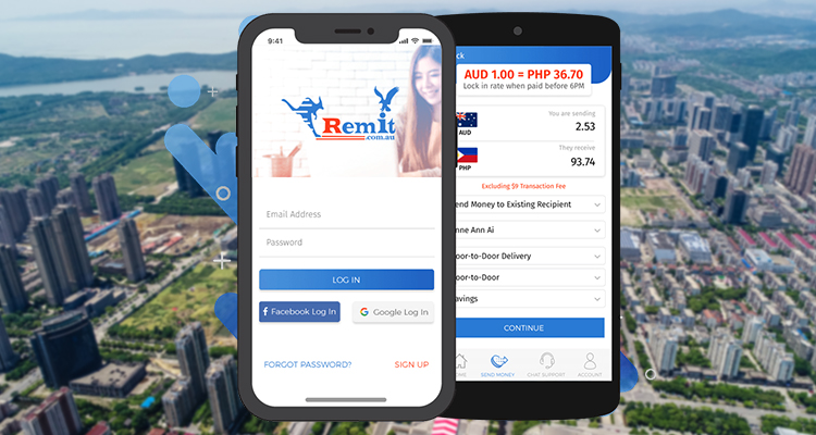 Mobile apps for sending money to the Philippines
