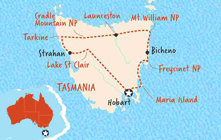 Where in Tasmania will you move to