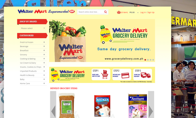 10-WalterMart Grocery Delivery
