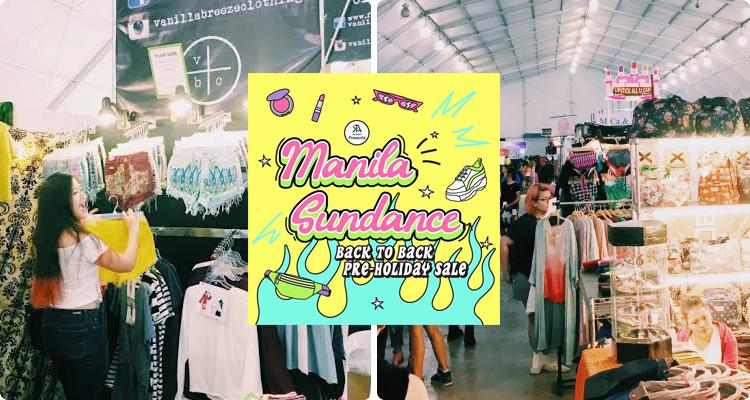 5-Manila Sundance Bazaar (17-23 and 27-29 December)