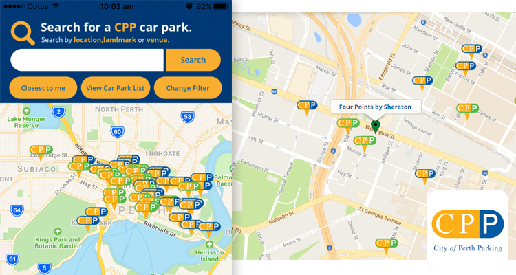 5-Parkopedia Parking City of Perth Parking (CPP) Apps
