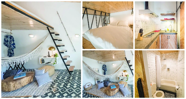 Agta Nest Cozy Loft Apartment