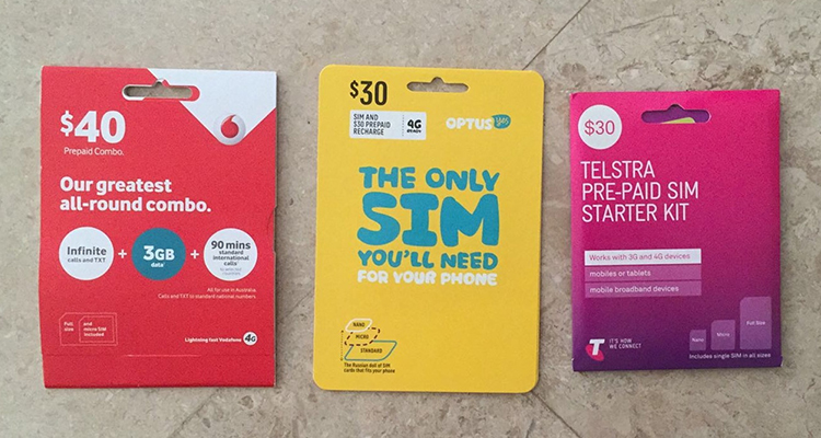 Buy sim cards