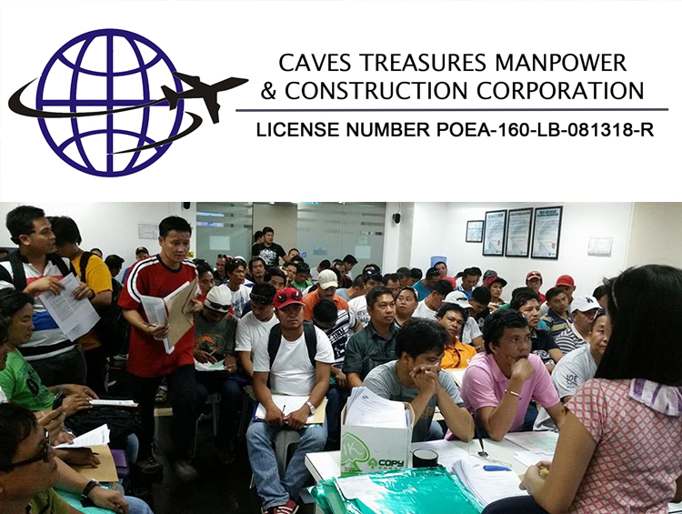 CAVES TREASURES MANPOWER & CONSTRUCTION CORPORATION