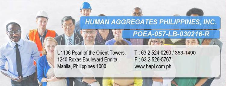 HUMAN AGGREGATES PHILS INC