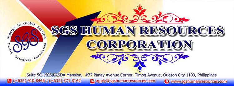 SGS HUMAN RESOURCES CORPORATION