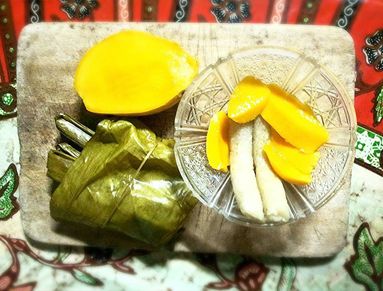 Suman and Manggang Hinog