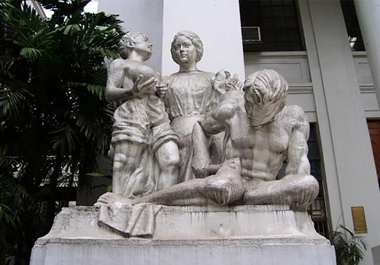 The Four La Madre Statues - Progress
