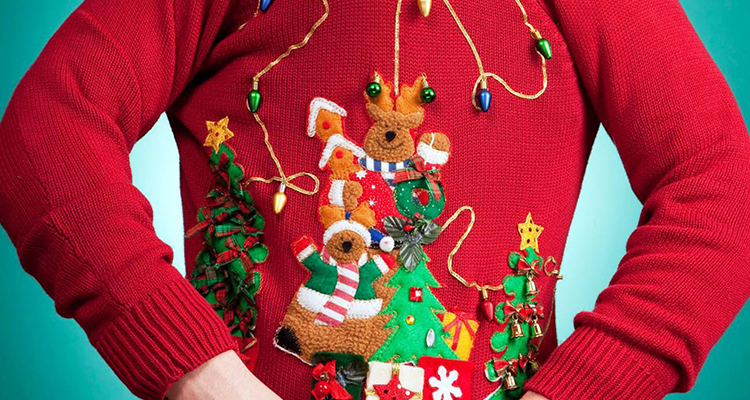 Ugly Sweater Party Christmas Theme