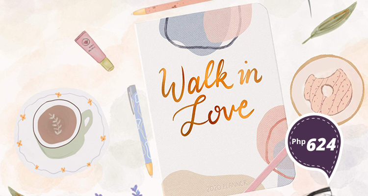Walk-in Love 2020 Planner (P624) from Love & Light Co