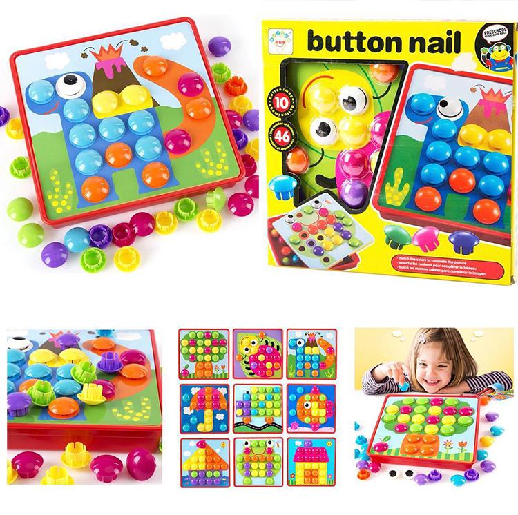 Button Pegboard