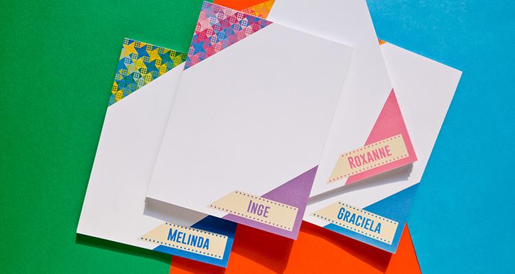 Customizable notepads